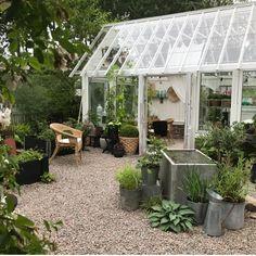 """Trädgård's Instagram profile post: """"💚Klurar på hur jag ska ha det runt växthuset i år och om missat nå't till köksträdgården?! 📝Kollat gamla listor för säkerhets skull.😊 👩🏼🌾…"""" Garden Landscape Design, Garden Landscaping, Landscape Designs, Enchanted Garden, Google Images, Tours, Instagram, Greenhouses, Ideas"""