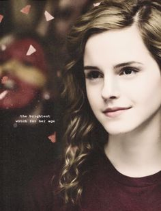 Hermione Granger: the brightest witch for her age