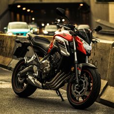 CB 650 in the city - null