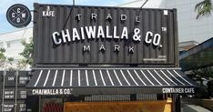 """Ideal for this Instagram age, Chaiwalla & Co could be the Klang Valley's first """"container cafe"""" _ an eye-catching construct of converted ..."""