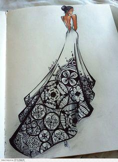 quero um vestido de casamento assim *--*
