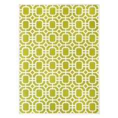 Threshold™ Indoor/Outdoor Area Rug - Lime Greenp Considering this one - it could go with my lime green umbrella in the garden and the blue and white antique garden seats from I. Patio Accessories, Patio Rugs, Indoor Outdoor Area Rugs, Lime, Home Decor, Target, Living Room, Decorating Ideas, Decor Ideas