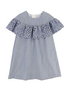 Chloé - Toddler's, Little Girl's & Girl's Embroidered Strawberries Dress Frill Dress, Ruffle Blouse, Strawberry Dress, Dress Anak, Girls Shopping, No Frills, Size Clothing, Girl Outfits, Girls Dresses