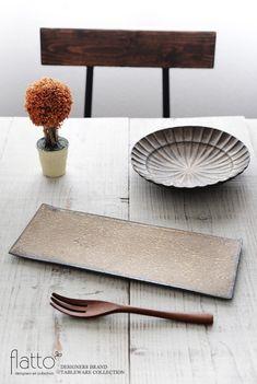 銅彩釉 角長皿(大)/作家「水野幸一」/和食器通販セレクトショップ「flatto」
