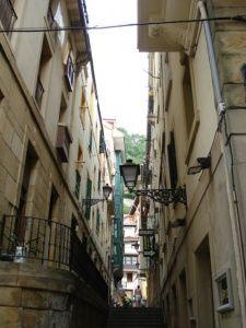 San Sebastián - Narrow Streets