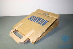 bolsas de papel con asas para meter bocadillos