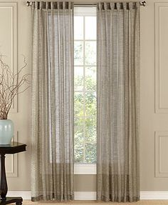 "Beacon Looms Window Treatments, Chelsea Sheer 50"" x 84\"" Panel"