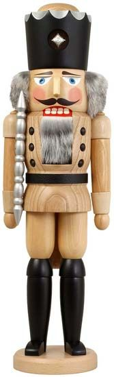 Nutcracker king/soldiers in natural colors