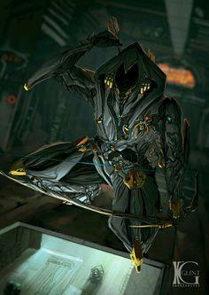 Stealth Kill by Kevin-Glint on DeviantArt Alien Character, Game Character, Character Concept, Character Design, Armor Concept, Concept Art, Science Fiction, Warframe Art, Look At My