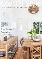 This is a well done issuu magazine about coastal/beach style decorating & design