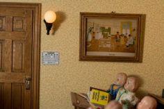 """Dollhouse """"escuela"""", con preciosas muñequitas en Wandsbek - Hamburg Folk Village   eBay Classifieds"""