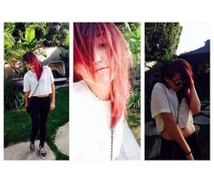 Red Haired Noah Cyrus Seduces Pool - http://oceanup.com/2014/05/08/red-haired-noah-cyrus-seduces-pool/