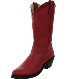 Durango Womens Red Leather Western Boot rd4105