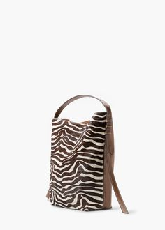 Animal print bag | MANGO