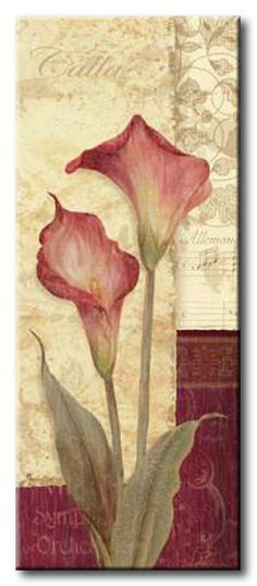 GlA_493_Quattro Sonata IV / Cuadro Flores, Flor Vintage