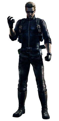 Albert Wesker_Resident Evil