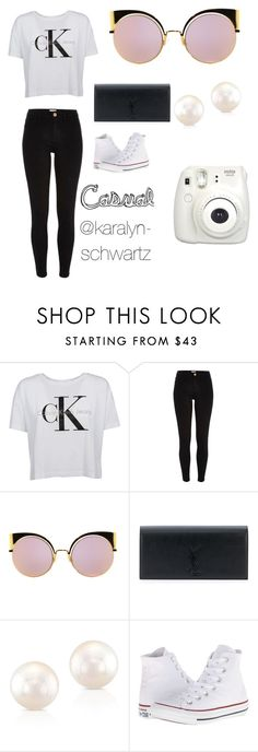 """""""Casual For @sophie-brewer"""" by karalyn-schwartz ❤ liked on Polyvore featuring River Island, Fendi, Yves Saint Laurent, Anne Sisteron, Converse and Fujifilm"""