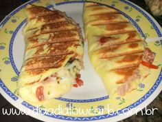 Danette lowcarb - Dia a Dia Low Carb Low Carb Recipes, Cooking Recipes, Healthy Recipes, Low Carb Diet, Light Recipes, Food Porn, Food And Drink, Yummy Food, Crepes