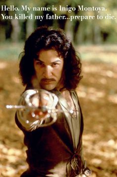 """The Princess Bride. I love this movie! """"As you wish"""" Favorite movie from my childhood. I don't know how people have survived without seeing this."""