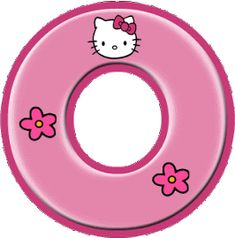 Alfabeto de Hello Kitty con letras grandes. - Oh my Alfabetos! Hello Kitty Birthday Theme, Hello Kitty Themes, Hello Kitty Pictures, Kitty Images, Polka Dot Letters, Hello Kitty Imagenes, Disney Frames, Hello Kitty Wallpaper, Alphabet And Numbers