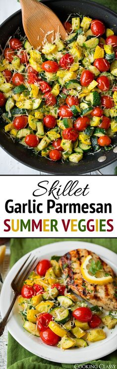 A quick summer vegetable side dish that's the perfect addition to any meal. Easy to prepare and sure to be a crowd pleaser! A quick summer vegetable side dish that's the perfect addition to any meal. Easy to prepare and sure to be a crowd pleaser! Side Dish Recipes, Veggie Recipes, Vegetarian Recipes, Cooking Recipes, Healthy Recipes, Chicken Recipes, Summer Vegetable Recipes, Fast Recipes, Ketogenic Recipes