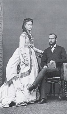 Infanta Isabel and her husband Gaetano.