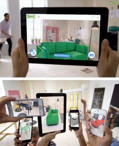 Ikea's augmented reality catalogus laat je virtueel zien hoe de nieuwe meubels in je huis staan, voordat je ze bestelt!