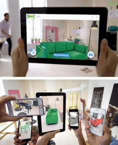 Ikea's augmented reality catalog lets you virtually 'see' new furniture in your house before you order it.