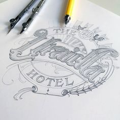 Beautiful lettering by @schmetzer | #typegang - typegang.com | typegang.com #typegang #typography