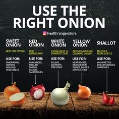 Healthy Recipes Just for the record, I don't think there's ever really a WRONG time to use any onion (except maybe u - Health and Nutrition Cooking Tips, Cooking Recipes, Healthy Recipes, Food Tips, Healthy Foods, Keto Recipes, Cooking Onions, Roasted Onions, Eating Raw