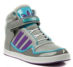 finest selection 0e099 dd8ae Womens adidas ADI-Rise Athletic Shoe, Gray Purple Blue, at Journeys Shoes