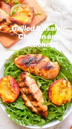 Balsamic Chicken, Bbq Chicken, Grilled Chicken, Summer Grilling Recipes, Soup And Sandwich, Healthy Salads, Salmon Burgers, Diet Recipes, Delicious Desserts