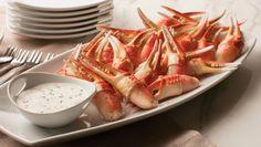 Snow+Crab+Claws+with+Cilantro+Aioli