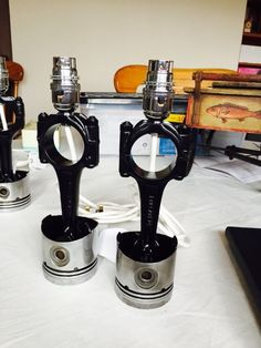 Pair Of Conrod/Piston Lamps Automotive,Engine, Hotrod, Ratrod | eBay
