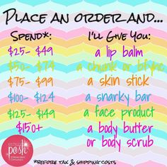 Perfectly Posh free gift with order! #Antiaging Posh Words, Spa Birthday Parties, Bachelorette Parties, Posh Products, Beauty Products, Pink Bar, Posh Shop, Black Skin Care, Paris Birthday
