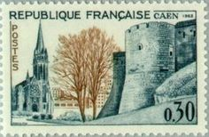 Caen - Castle. 36th Congress of Federation of Philatelic Fre