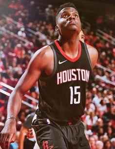 Clint Capela (2017/18) en Houston Nba Basket, Houston, Sports, Tops, Fashion, Hs Sports, Moda, Fashion Styles, Sport