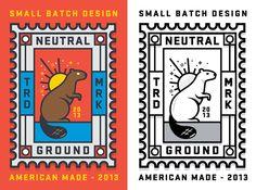 Neutral Ground Stamp on Behance