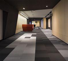 LEMAYMICHAUD | Quebec | Conference Hall | Architecture | Design | Seating | Carpet | Birch | Wood| Black | Gray | Orange | White | Concrete