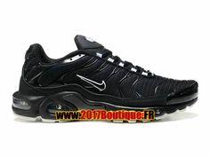 Nike Air Max Tn/Tuned Requin Mesh Chaussures Nike Sportswear Pas Cher Pour Homme Noir/Blanc 604133-102