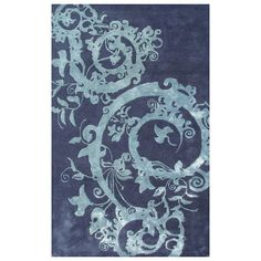 I pinned this Cosa Bella Rug in Teal from the Rug Market event at Joss and Main!