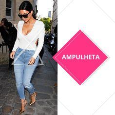 Estilo de corpo ampulheta: Kim Kardashian