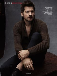 Nikolaj Coster-Waldau Poses for Photos in C for Men, Talks Jaime Lannister's Complexities Mode Masculine, Lund, Game Of Trone, Game Of Throne Actors, Nikolaj Coster Waldau, Jaime Lannister, Charming Man, Attractive Men, Gorgeous Men