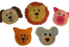crochet dog face - Bing Images