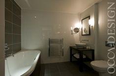 Hotel Interior Design, Scottish Hotel Interior, Bedroom Interior, Ensuite Bathroom Interior, Free-standing Bath, Wahs hand Basin, Contemporary Interior, Luxurious Bedroom, The Landmark Hotel, Dundee, BDL
