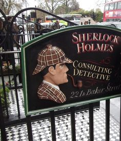 Why not visit the The Sherlock Holmes Museum? It is about 5 min walk away from the flat.