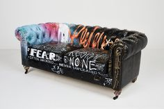 Art Furniture, Graffiti Furniture, Funky Furniture, Furniture Makeover, Painted Furniture, Furniture Design, Painted Dressers, Plywood Furniture, Chair Design