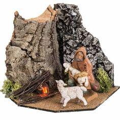 Christmas Crafts, Christmas Ideas, Fontanini, Firewood, Cribs, Nativity, Miniatures, Crafty, Texture