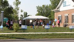 It didn't take long for people to show up at Dr Jennifer Thomm's Free Kids Dental Day hosted at her Dental Office; Great Lakes Dental located in Sarnia, Ontario.