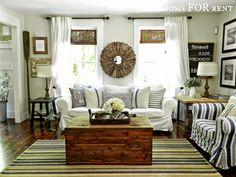 Coastal Farmhouse House Tour-Rooms For Rent